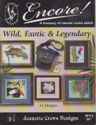 Wild Exotic and Legendary - Cross Stitch Pattern