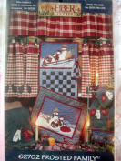 Frosted Folks Quilt Pattern By Fibre Mosaics