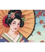 Dimensions Counted Cross Stitch 13cm X 18cm - Asian