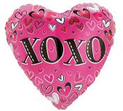 XOXO Sassy Sweetheart 46cm Mylar Balloon