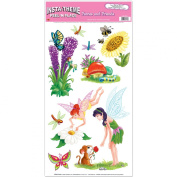 Fairies & Friends Peel 'N Place Party Accessory (1 count)