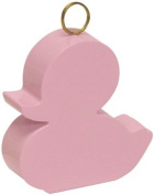 Pink Duck Balloon Weight 1ct