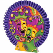 Mardi Gras Centrepiece Party Accessory (1 count)