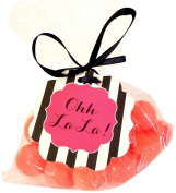 "Bella Cupcake Couture 8-Pack ""Ohh La La"" Hang Tags, Striped Black and White"