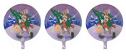 3 Bugs Bunny and Tweety Bird Christmas Mylar Balloons