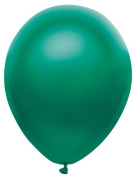 Metallic Satin Forest Green Party Balloons