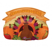 Happy Thanksgiving Banner 80cm Mylar Balloon