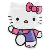 XL 80cm Hello Kitty Super Shape Mylar Foil Balloon Party Decoration