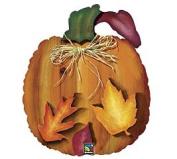 Fall Pumpkin Shaped 70cm Mylar Balloon