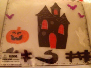 Haunted House Gel Cling Set