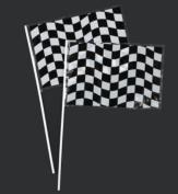 Creative Converting Racing Flags