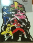 Mighty Morphin Power Rangers Party Centrepiece Table Decoration inches