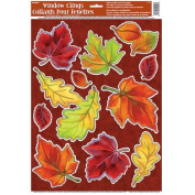 Crisp Leaves Window Decals