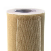 Koyal Wholesale 25-Yard Tulle Roll, 15cm , Ivory