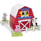 Farm 1st Birthday Centrepiece - Party Tableware & Table Decorations