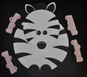 Pin the Binky on the Zebra Game