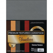 Core'dinations Value Pack Cardstock 22cm x 28cm 40/Pkg-Timeless - Textured