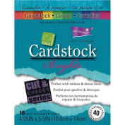 Darice GX-3000-12 30-Pack Core'dinations Core Essentials Collection Cardstock Paper Sheets, Brights, 11cm by 14cm
