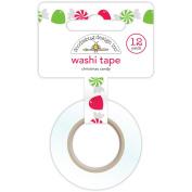 Doodlebug Home For The Holidays Christmas Candy Washi Tape