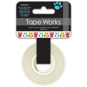 Tape Works Tape .1590cm X50ft-Owls