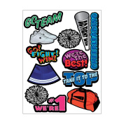 Themed Die Cut Assortment-Cheerleading