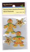 Recollections Holiday Gingerbread Dimensional Stickers