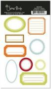 Ashville Labels Cardstock Scrapbook Stickers