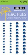Azure Self-adhesive Assorted Gems // Hero Arts