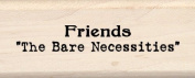 Inkadinkado Friends Wood Stamp