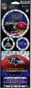 Baltimore Ravens Super Bowl XLVII Prismatic Decal