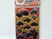 Disney Pixar Cars Puffy Stickers
