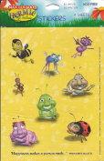 Hermie and Friends Characters Scrapbook Stickers