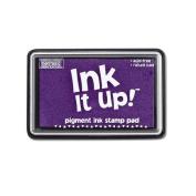 Ink It Up!TM LAVENDAR Pigment Ink Pad - PURPLE LAVENDAR, light purple Pigment Stamp Pad - Ink It Up!TM Pigment Ink Stamp Pads