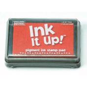 Ink It Up!TM ORANGE Pigment Ink Pad - ORANGE Pigment Stamp Pad - Ink It Up!TM Pigment Ink Stamp Pads