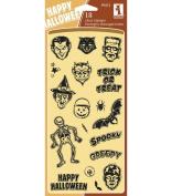 Inkadinkado Clear Seasonal Stamps 10cm by 20cm Sheet, Spooky & Creepy
