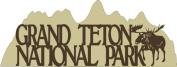 Grand Teton National Park Cut-out // Petticoat Parlour