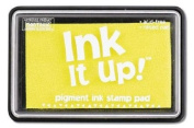 Ink It Up!TM YELLOW Pigment Ink Pad - YELLOW Pigment Stamp Pad - Ink It Up!TM Pigment Ink Stamp Pads