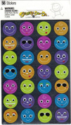 Smile Faces Foil Scrapbook Stickers