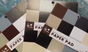 Natural Tones Cardstock Paper Pad (6 x 6) // Hampton Art