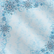 Hot Off The Press - Snowflake Corners Foil