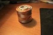 #18 Conso Heavy Duty Beading Cord (Thread) Colour 763 Light Brown
