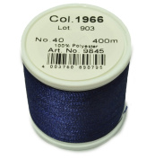 Maderia Sewing Machine Thread Dark Indigo