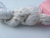 Louisa Harding Mulberry Hand Beaded Silk Yarn 01 White