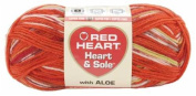 Red Heart Heart & Sole Yarn-Fire