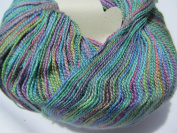 Juniper Moon Findley Dappled Lace Weight Yarn Colour 114 Macaw Luxury Yarn 1sk