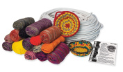 Pacon Yarn Value Super Assorted Value Box, 32 Cones