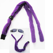 New Sunglass Neck Strap Eyeglass Cord Lanyard String Holder Sports Cycling Purpl