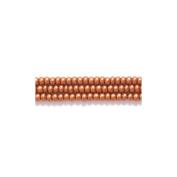Preciosa Ornela Czech Seed Bead, Silk Dark Copper, Size 11/0