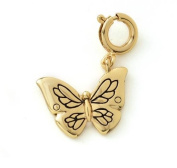 Growing up Girls Birthday Charm Age 9 Butterfly