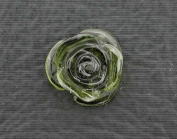 5.26 Carat Green Tourmaline Flower Carving Gem Stone Gemstone Natural